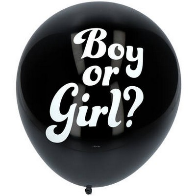 9008568 - 3 Ballons annonce Fille