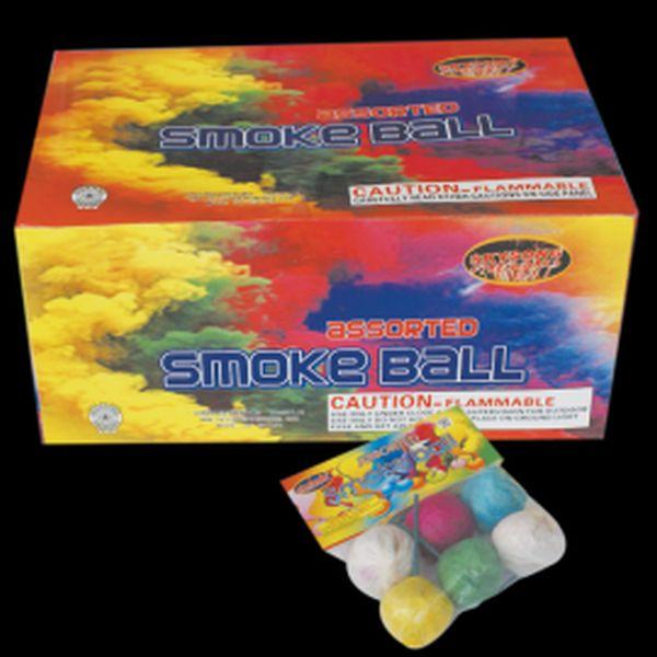 67043 - Assorted Color smoke Balls