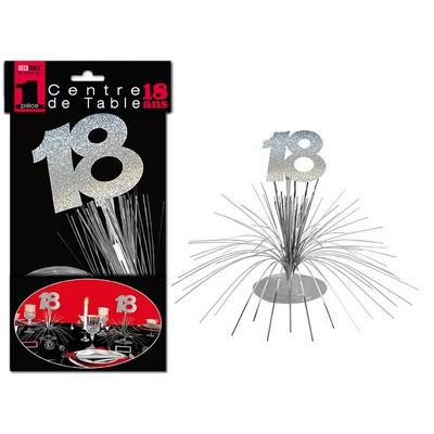 16181 - Centre de Table 18 Ans
