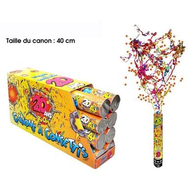 18260 - Canon à Confettis 20 Ans