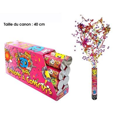 18277 - Canon à Confettis 30 Ans