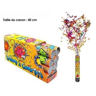 18284 - Canon à Confettis 40 Ans