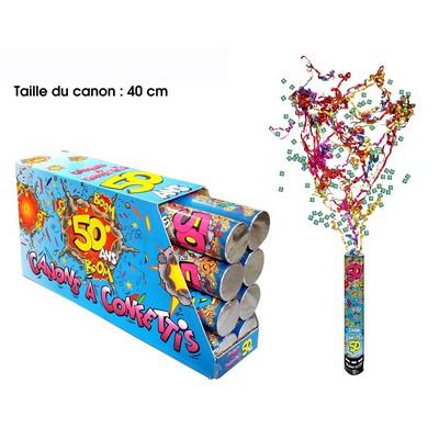 18291 - Canon à Confettis 50 Ans