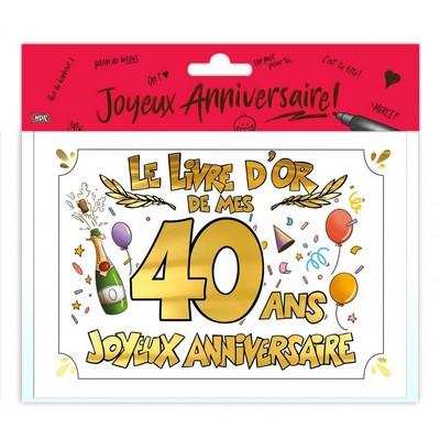 18796 - Livre d'Or 40 Ans