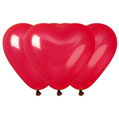 22206 - Ballons Coeur Rouge