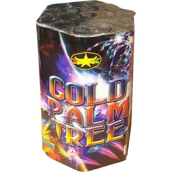 71468 - Gold Palm Tree 19 Shots