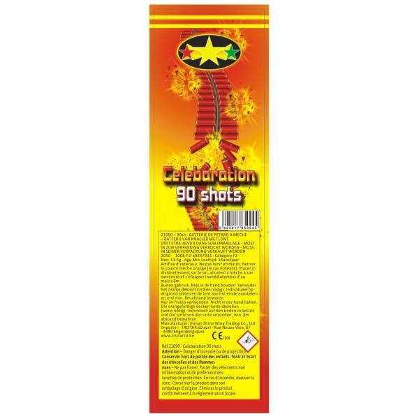 53054 - China Crackers 90 Shots