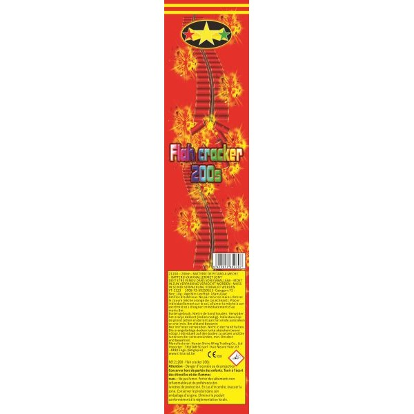 530621 - Flash Crackers 200 Shots