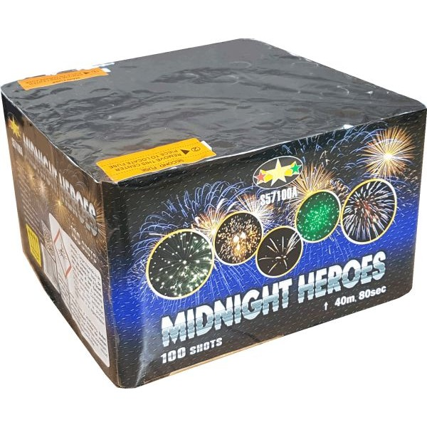 71672 - Midnight Heroes 100 Shots