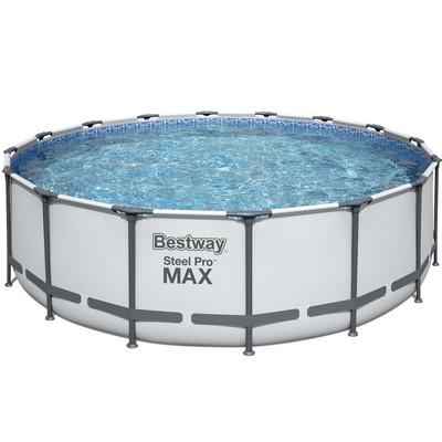 BES45612 PISCINE STEEL PRO MAX 4.88m x 122Cm