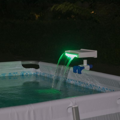 BES58619 FLOWCLEAR SOOTHING LED WATERFALL