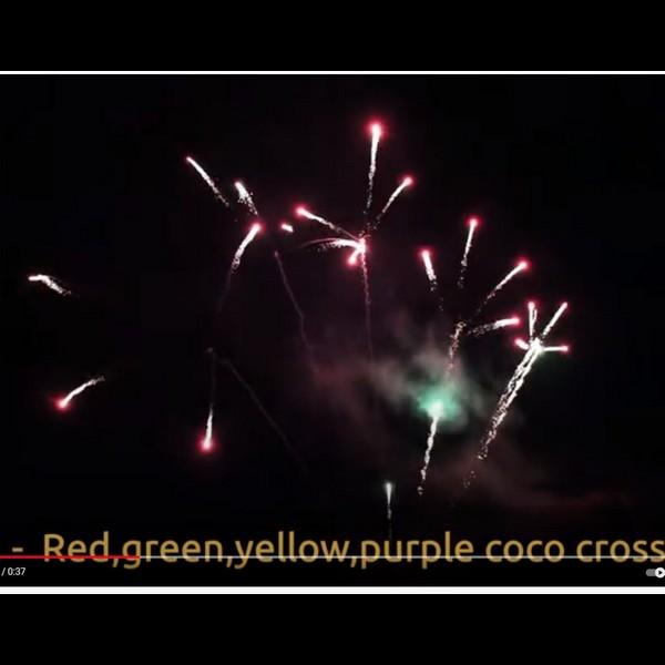 71774 - Multicolor Crossette 35 Shots