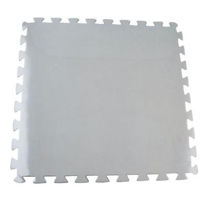 BES99011 8PC TAPIS DE PROTECTION 50X50X1 Cm GRIS